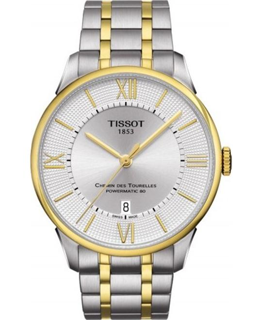 TISSOT Chemin Des Tourelles Powermatic 80 Watch 42mm