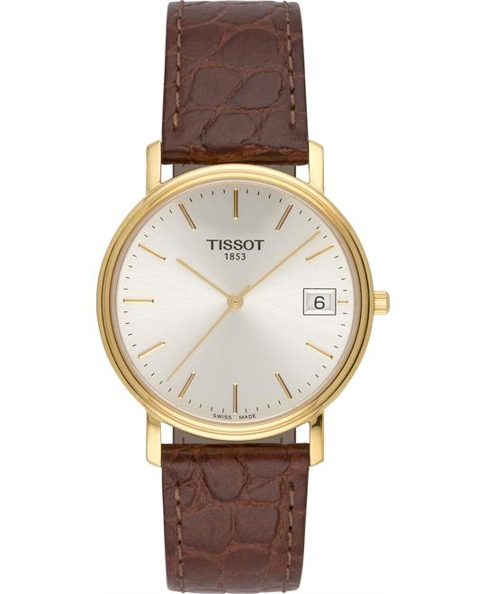 Tissot Classic Desire Silver Dial Men's Watch 34mm