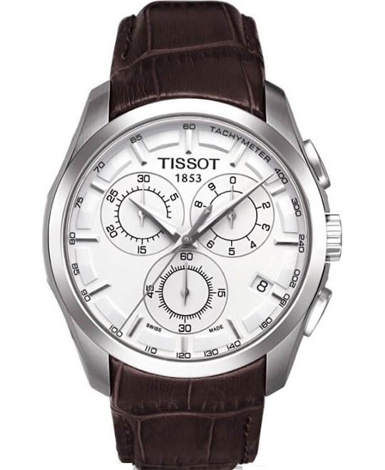 Tissot Couturier Chronograph Mens Watch 41mm