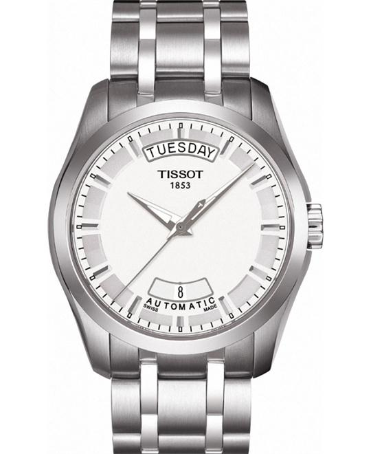 TISSOT Couturier Day-Date Men's Watch 39mm