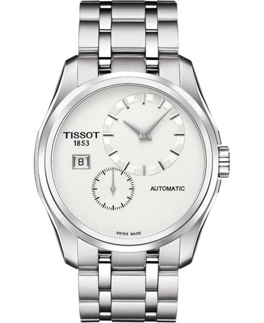 TISSOT Couturier Silver Dial Watch 39mm