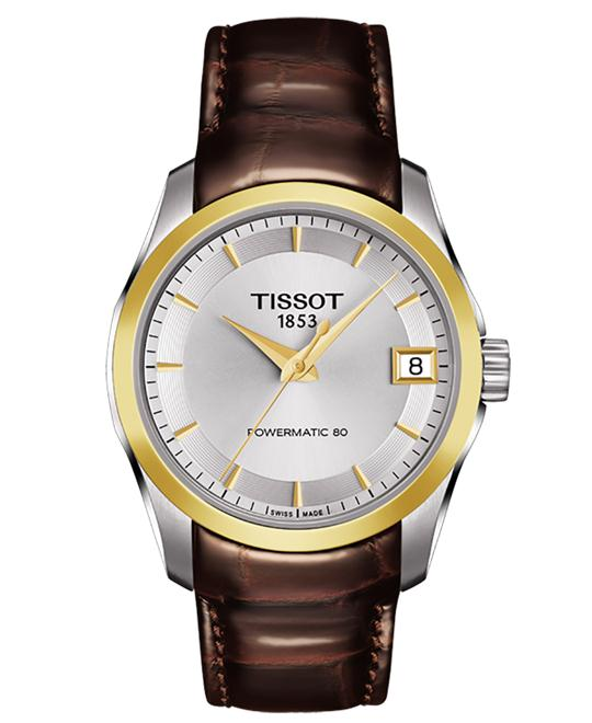 TISSOT T035.207.26.031.00 Couturier Watch 32mm