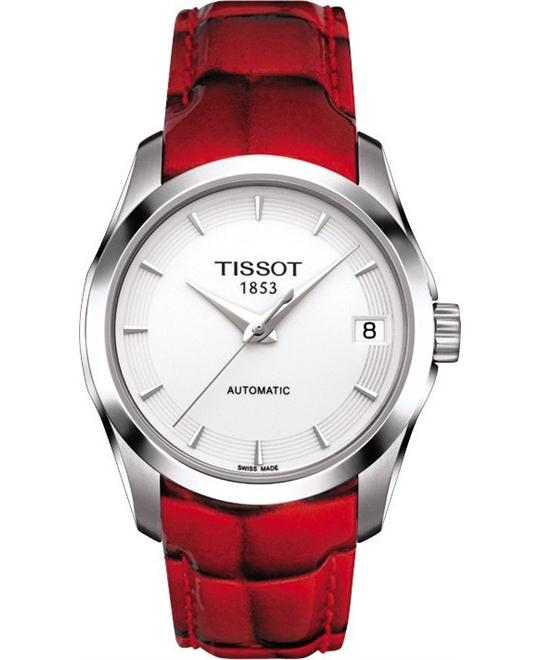 TISSOT Couturier Women's White Automatic Trend Watch 32mm