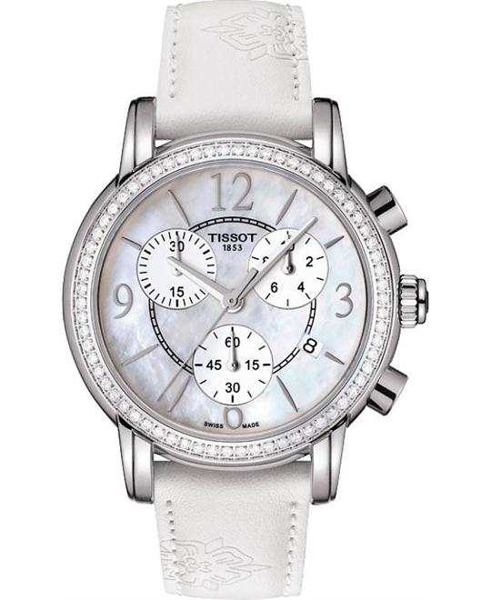 đồng hồ TISSOT T050.217.67.117.00 Dressport Diamonds 35mm