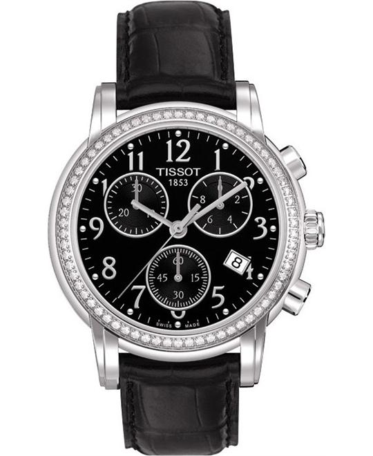 Tissot Dressport Womens Diamonds watch 35mm