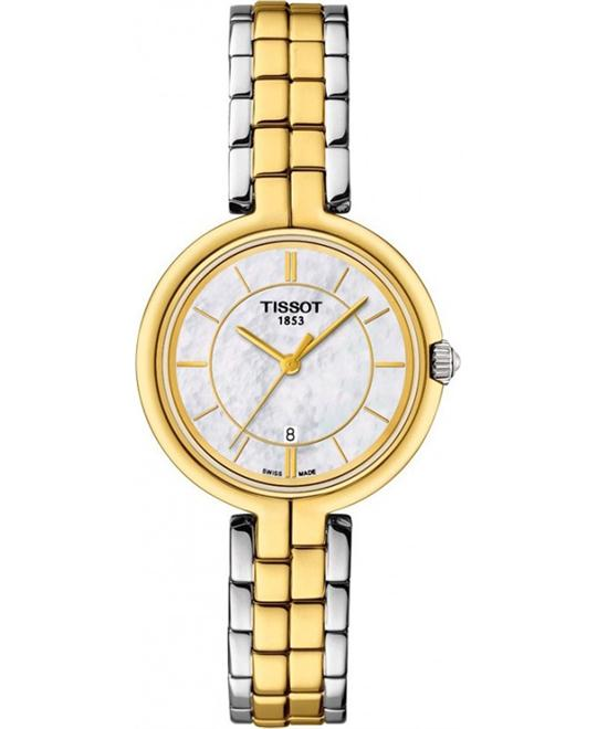 TISSOT Flamingo Mother of Pearl Dial Ladies Watch 26mm