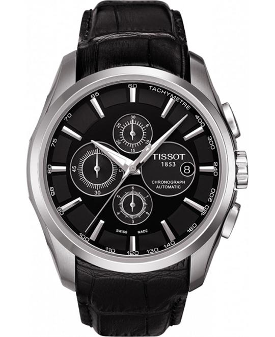 Tissot Gents T-Trend Couturier Automatic Chronograph Watch 43mm