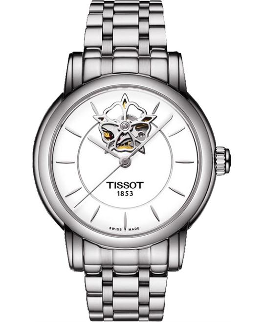 TISSOT Lady Heart Automatic White Dial Stainless  Watch 35mm