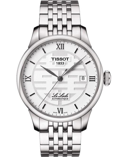 Tissot  Le Locle Analog Display Swiss Men's Watch 39.3mm
