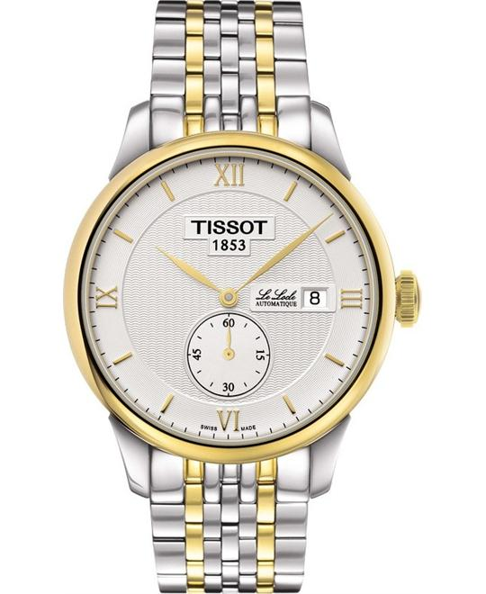 TISSOT Le Locle Men's Automatic Small Second Silver Dial Watch 39.5mm