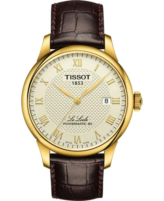 TISSOT Le Locle Powermatic 80 Automatic Men's Watch 39mm