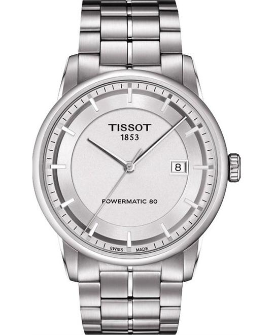 TISSOT Luxury Automatic Silver Dial Men's Watch 41mm