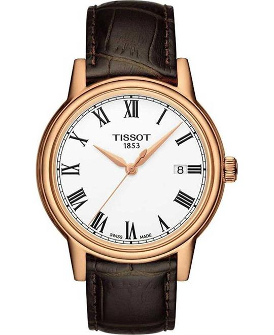 Tissot Men's  Analog Display Quartz Brown Watch 40mm