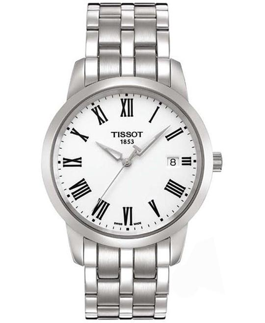 Tissot Men's Dream White Dial Watch 38mm