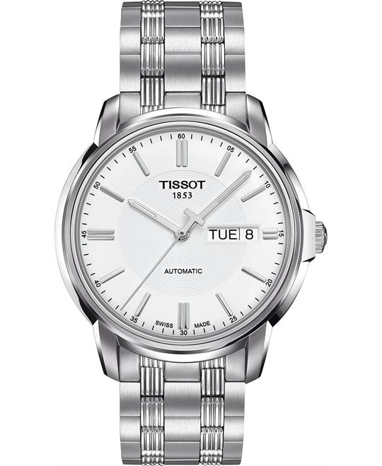 TISSOT Automatic III White Men's Watch 39mm