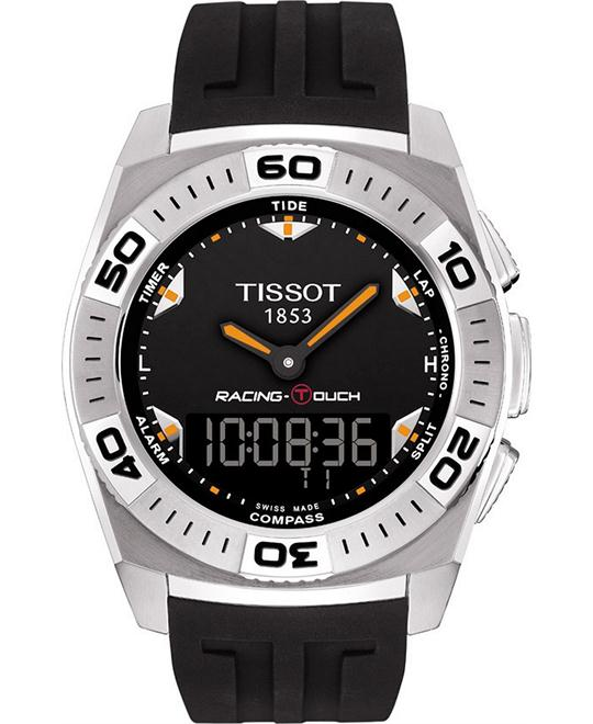 TISSOT Racing T-Touch Swiss Men's Watch 46x43mm