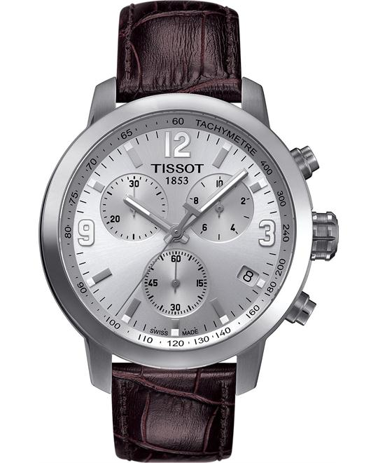 TISSOT PRC 200 Swiss Chronograph Men's Watch 42mm