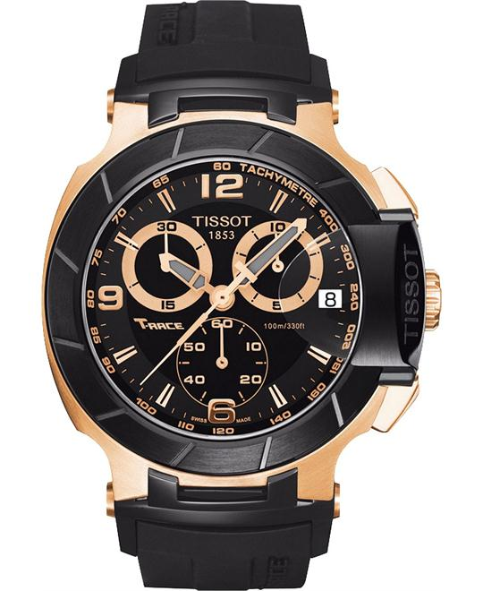 TISSOT T-Race Chronograph Rubber Men's Watch 43mm