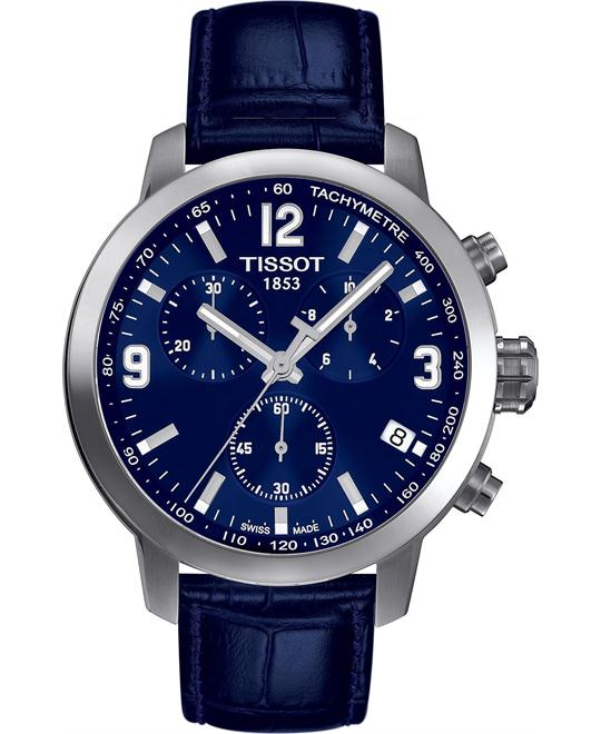 Tissot Men's Swiss Leather Strap 42mm
