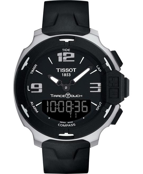 TISSOT T-Race Analog Digital Rubber Men's Watch 42mm