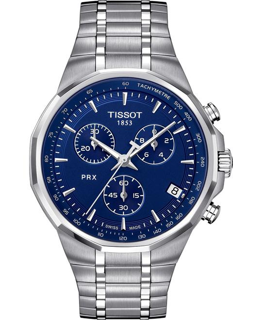 Tissot PRX Swiss Men's Chronograph Watch 40mm