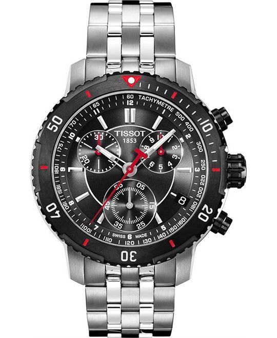 TISSOT T-Sport PRS200 Chronograph Textured Men's Watch 42mm