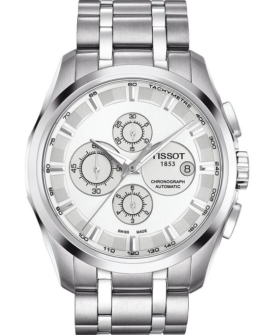 Tissot Men's Swiss Stainless Watch 43mm