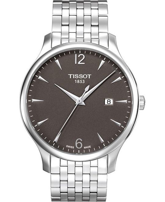 Tissot Tradition Swiss Men's Stainless Watch 42mm