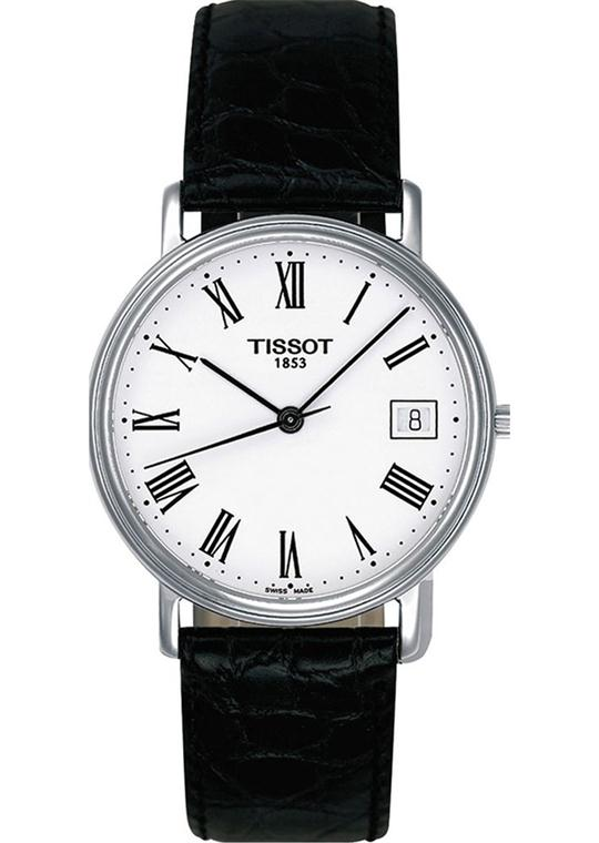 Tissot Men's T-Classic Desire Leather Watch 34mm