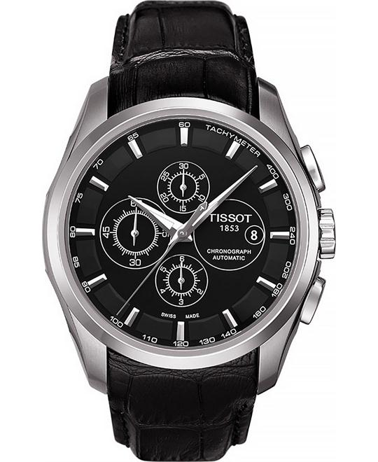 Tissot Men's T-Trend Couturier Stainless Steel Watch 43mm