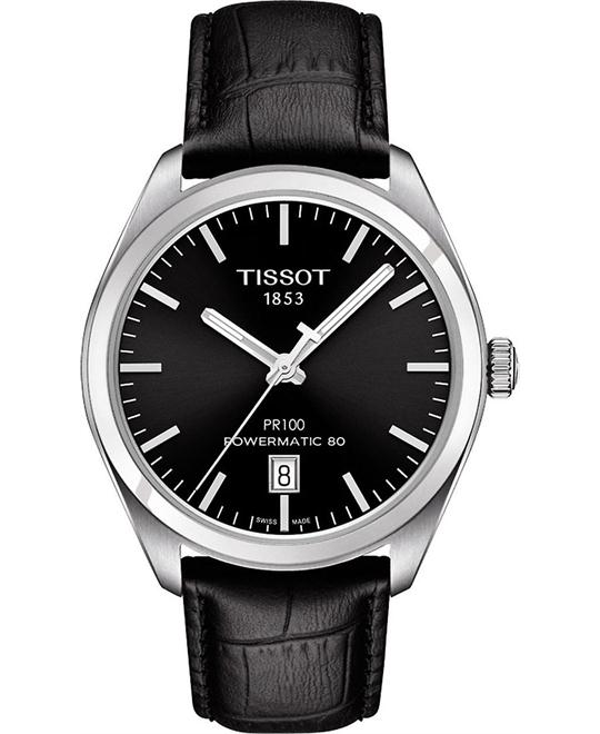 TISSOT PR 100 Automatic Black Dial Men's Watch 39mm