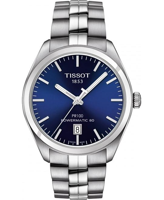 TISSOT PR 100 Automatic Blue Watch 39mm