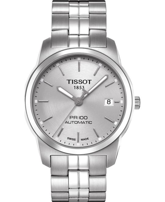 TISSOT PR100 Automatic Stainless Steel Men's Watch 38mm