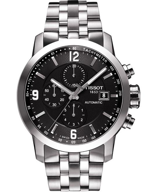 TISSOT PRC 200 Automatic Chronograph Men's Watch 44mm