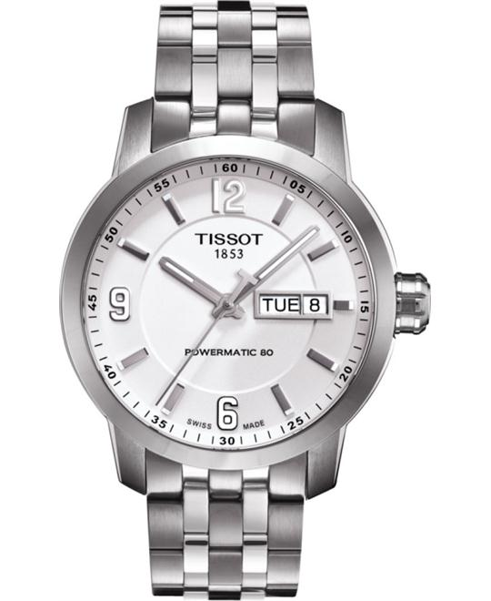 TISSOT PRC 200 Automatic White Dial Men's Watch 39mm