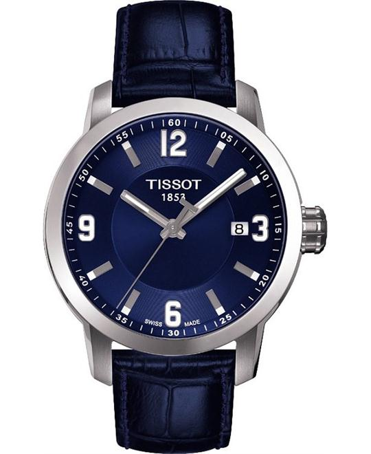 TISSOT PRC 200 Quartz Blue Sport Men's Watch 39mm