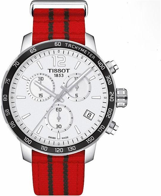 TISSOT Quickster Chicago Bulls NBA Special Edition Men's Watch 42mm