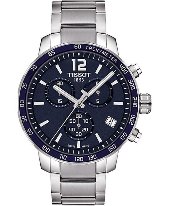 TISSOT Quickster Chronograph Blue Watch 42mm