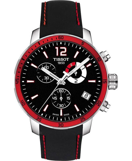 TISSOT Quickster Chronograph Soccer World Cup 2014 Watch 42mm