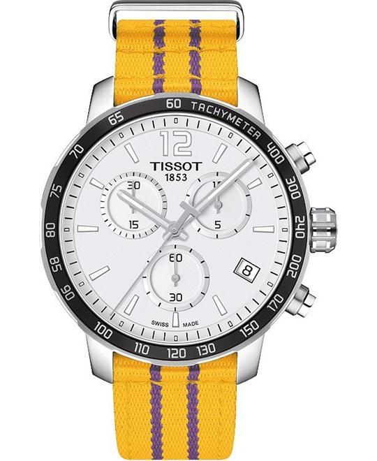 TISSOT Quickster Lakers NBA Special Edition Men's Watch 42mm