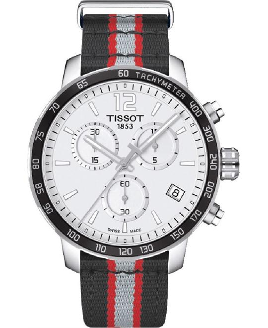 Tissot Quickster Toronto Raptors watch 42mm