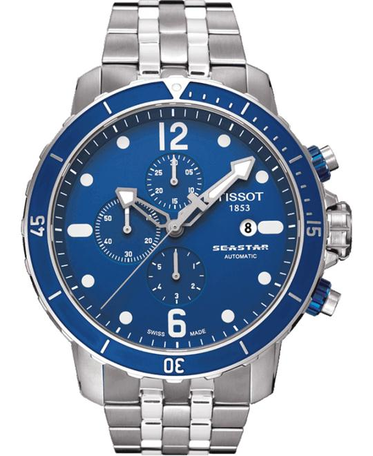 TISSOT Seastar T066.427.11.047.00 Blue Dial Men's Watch 48mm