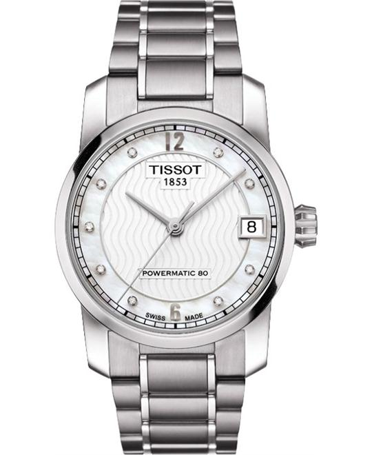 TISSOT T-Classic Automatic Dial Titanium Watch 32mm