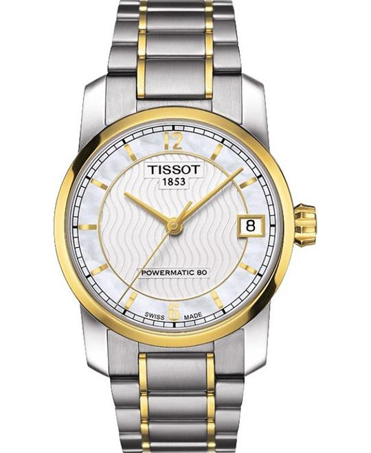 TISSOT T-Classic Automatic Mother of Pearl Watch 32mm