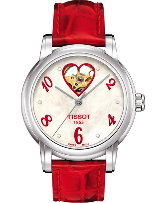TISSOT T-Classic Automatic Red Watch 35mm