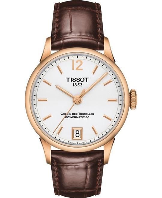 TISSOT T-Classic Chemin Des Tourelles Automatic Ladies Watch 32mm