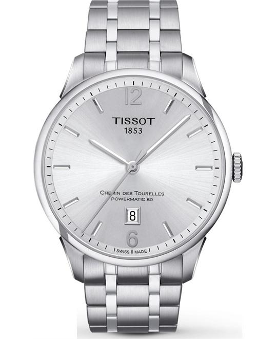 TISSOT T-Classic Chemin Des Tourelles Automatic  Men's Watch 42mm