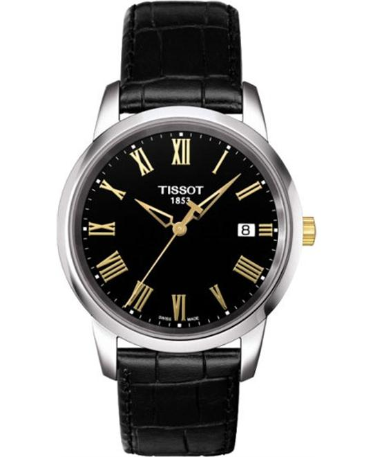 TISSOT T-Classic Dream Black Dial Men's Watch 38mm