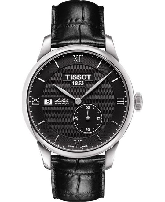 TISSOT T-Classic Le Locle Black Dial Men's Watch 39mm
