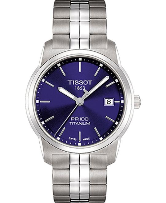 Tissot T-Classic PR 100 Date At 3 Men's Watch 39mm